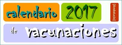Calendario Vacunal 2017 - Junta de Andalucía