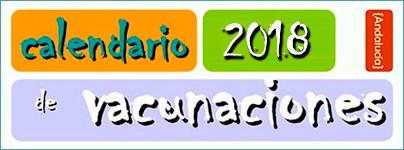 Calendario Vacunal 2018 - Junta de Andalucía