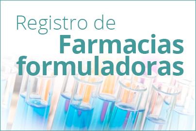 Registro de Farmacias Formuladoras