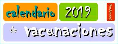 Calendario Vacunal 2019 - Junta de Andalucía
